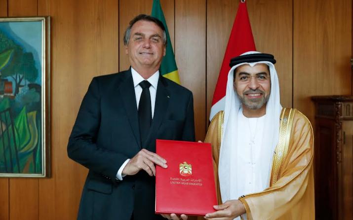 السفير ورئيس البرازيل