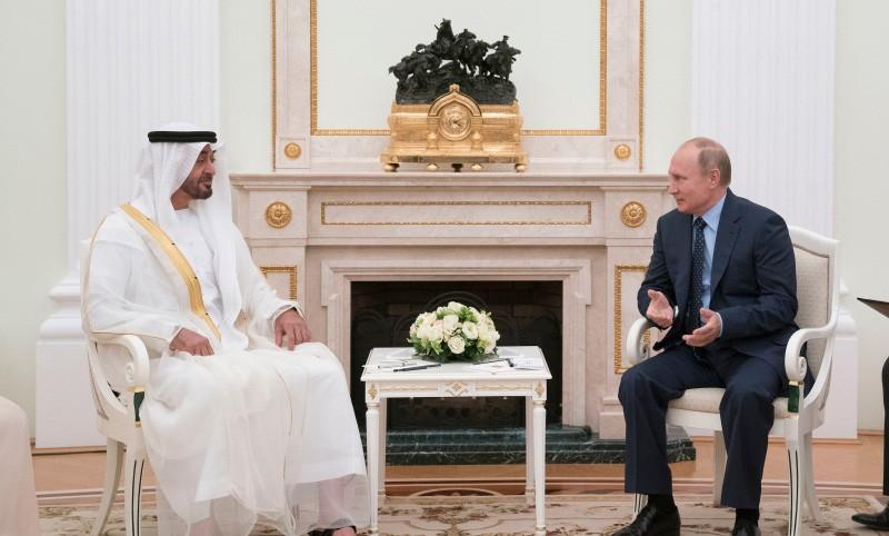 بوتين وبن زايد