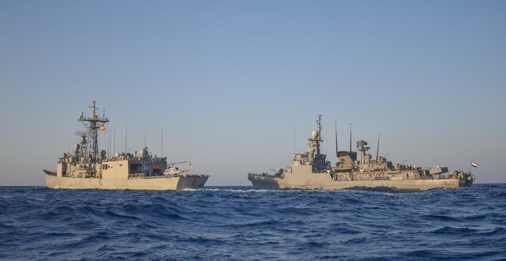 تدريب عسكري بحري