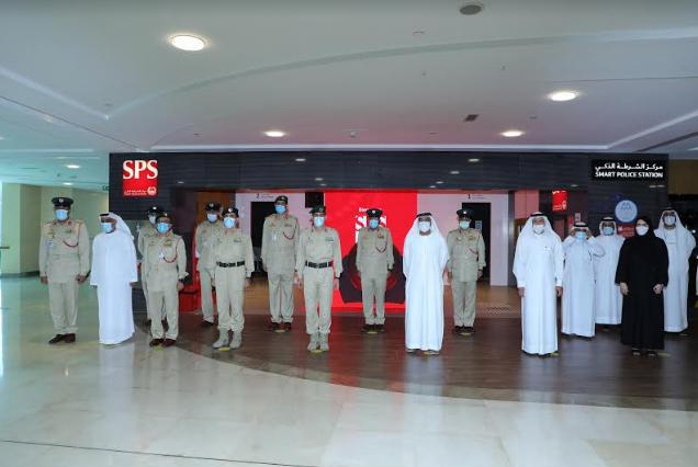 تدشين مركز الشرطة الذكي في المنطقة الحرة بمطار دبي