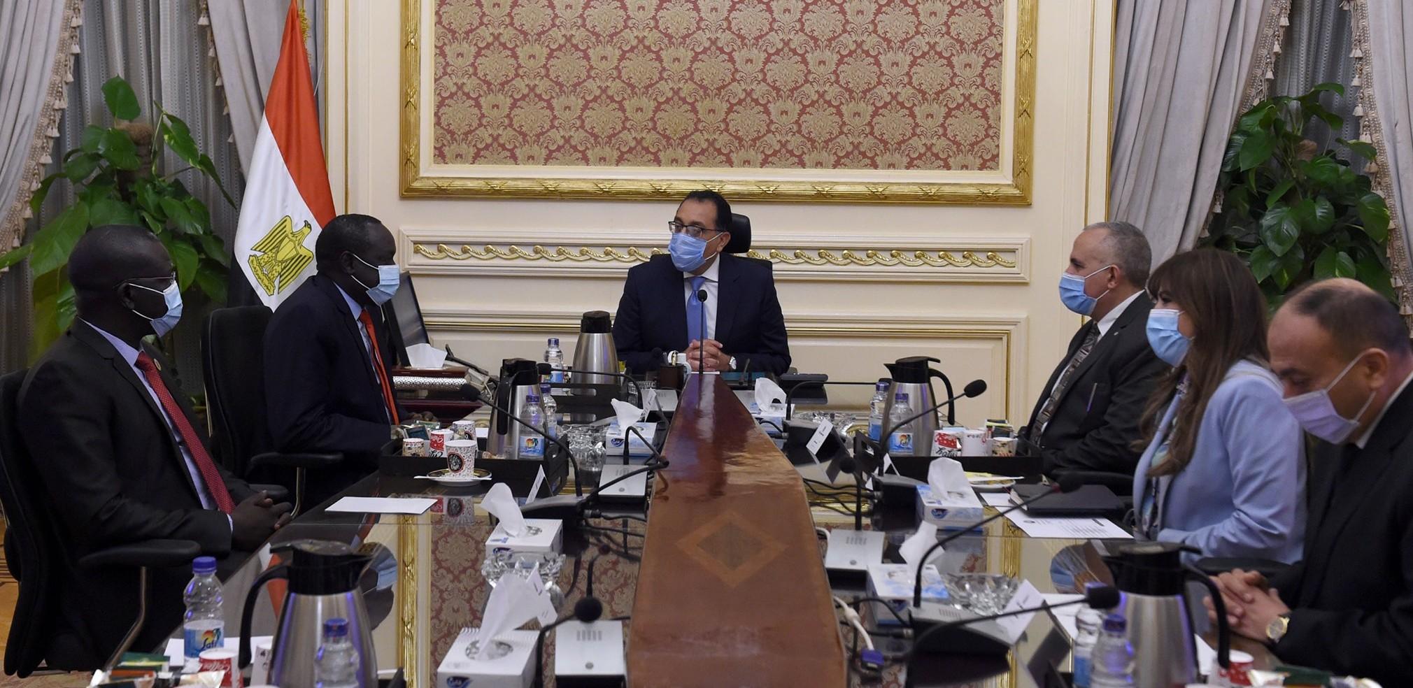 اجتماع مدبولي ووزير الري
