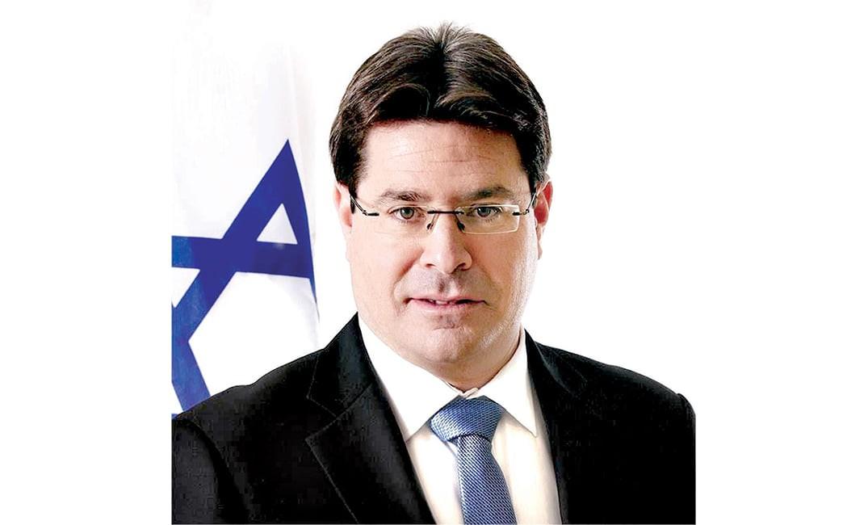 الوزير الإسرائيلي