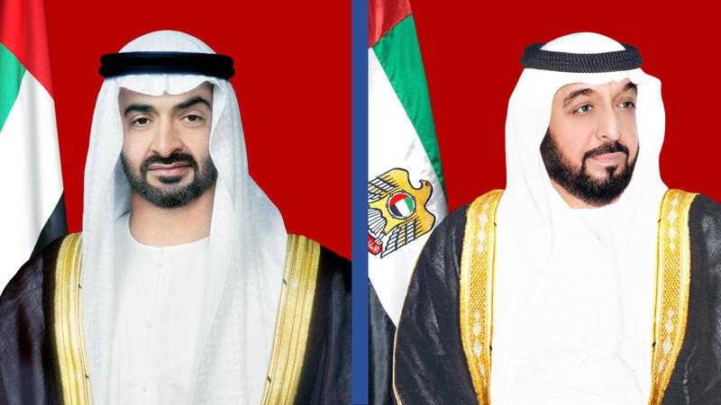 خليفة بن زايد ومحمد بن زايد