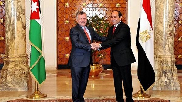 رؤساء مصر والأردن