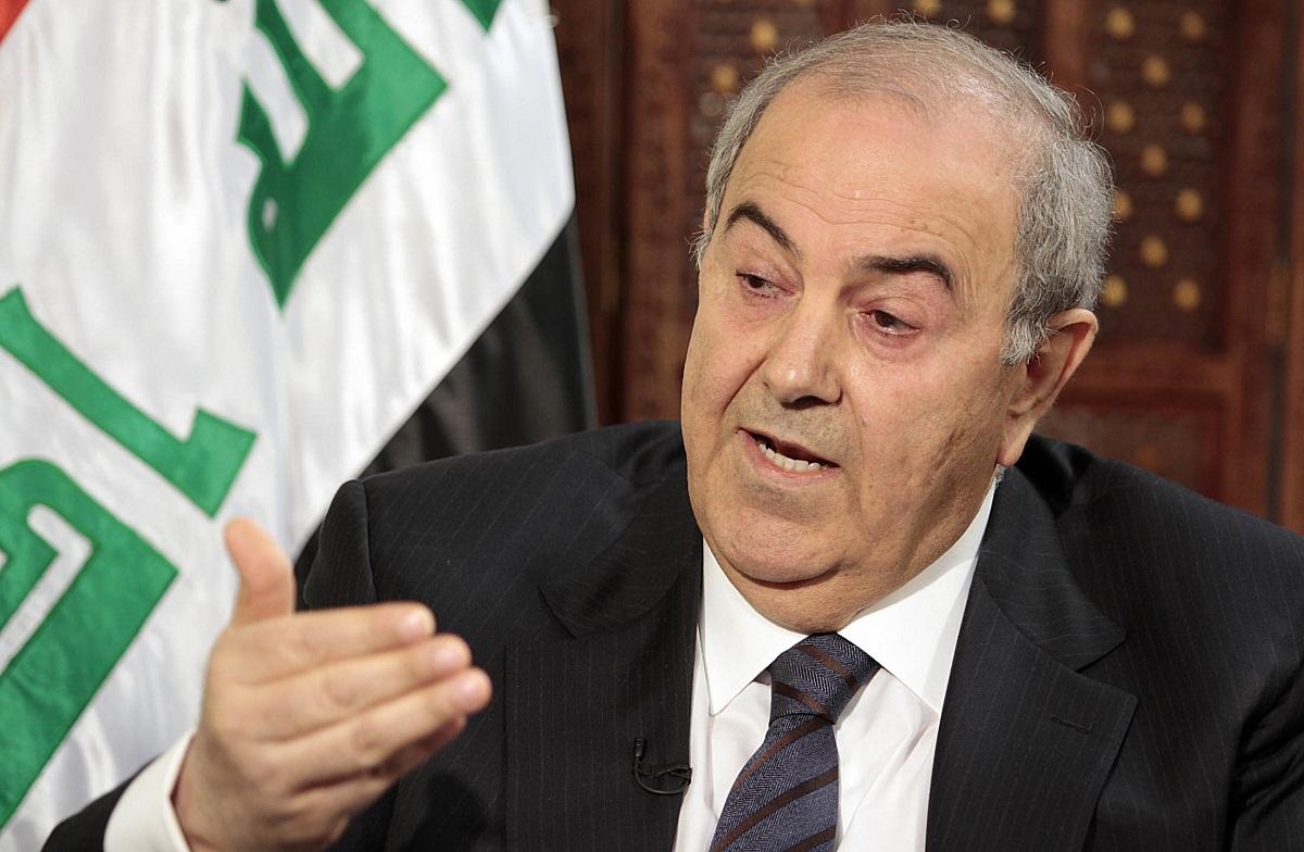 إياد علاوي نائب الرئيس العراقي