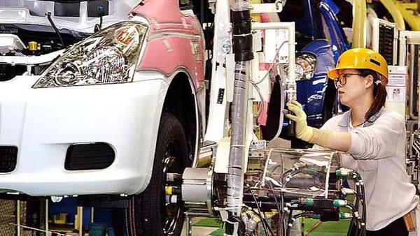 الإنتاج الصناعي باليابان