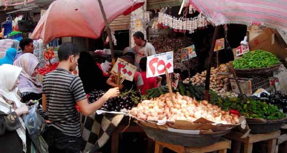 التضخم السنوي لأسعار المستهلكين بمصر