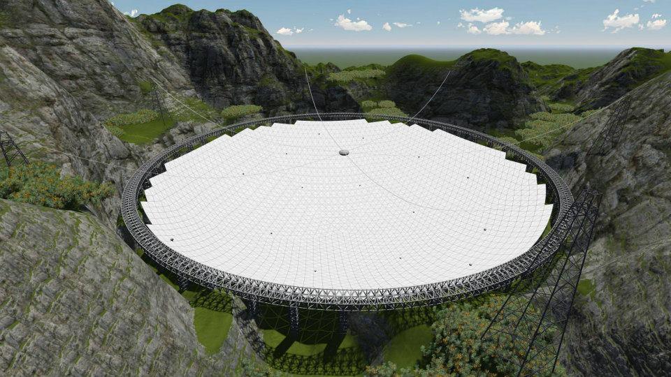 تليسكوب فاست الصيني