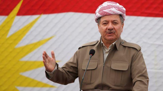 الرئيس العراقي برزاني