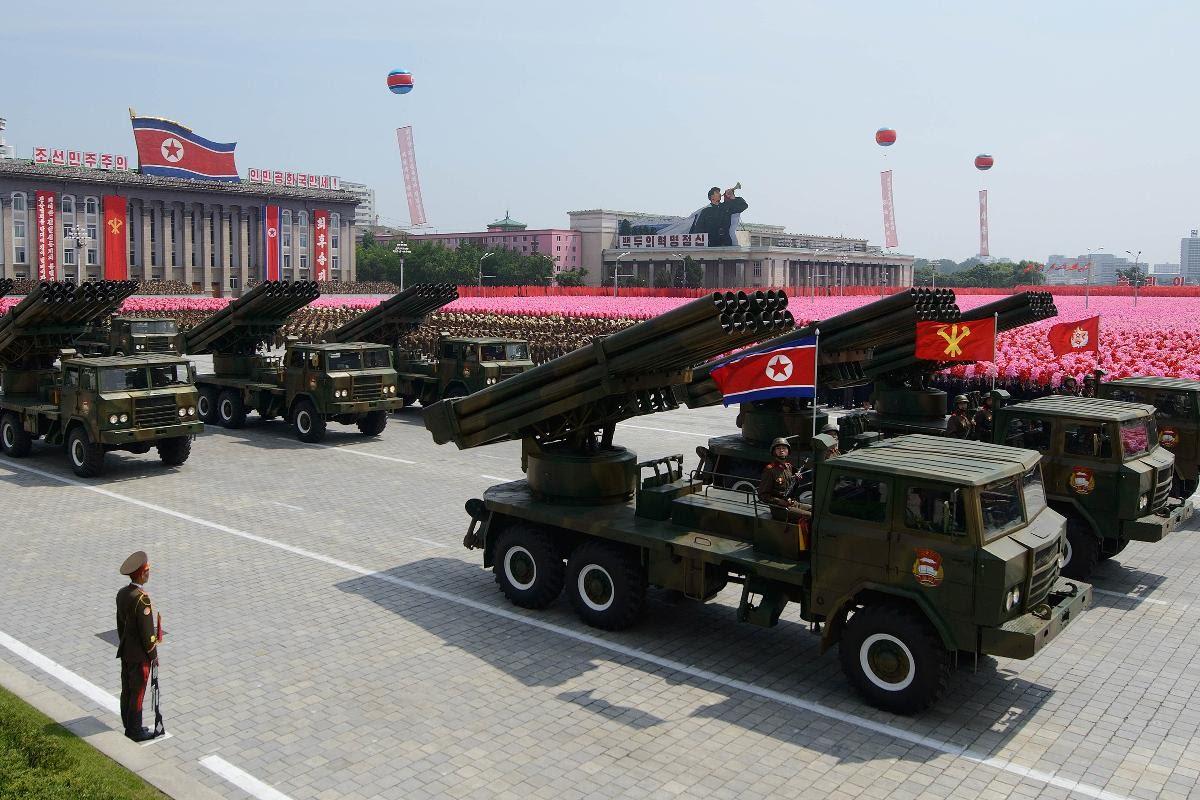 استعراض لجيش كوريا الشمالية