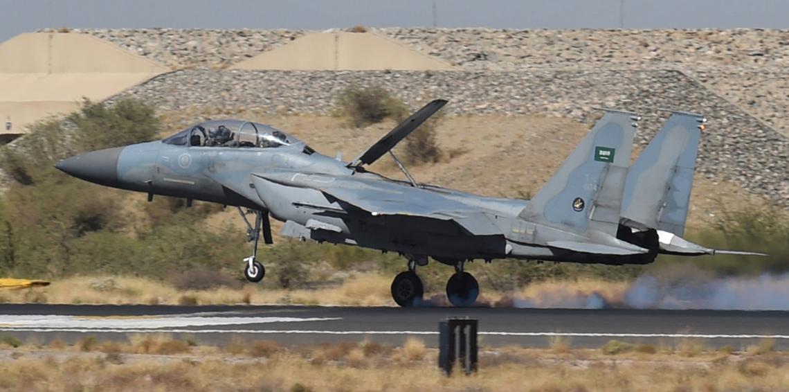 مقاتلات قوات التحالف العربي