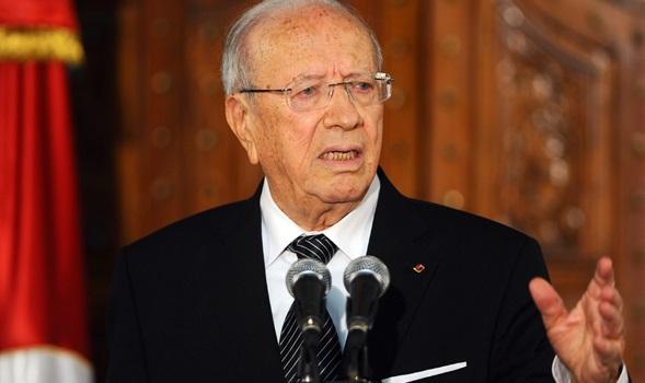 الرئيس التونسي قائد السبسي