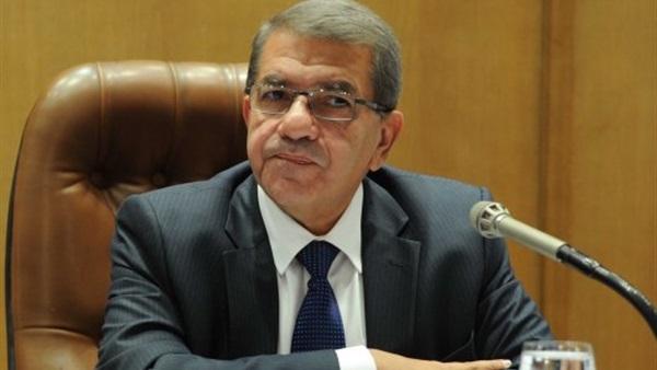 عمرو الجارحى وزير المالية المصري