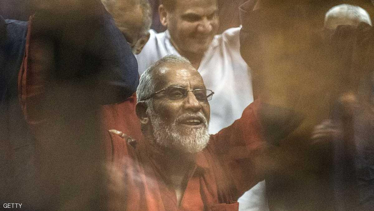 المرشد العام لجماعة الإخوان المحظورة محمد بديع