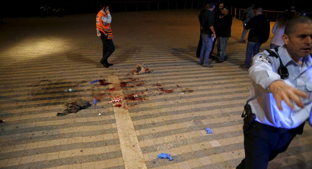 حادث مقتل شخص جراء انفجار سيارة في تل أبيب