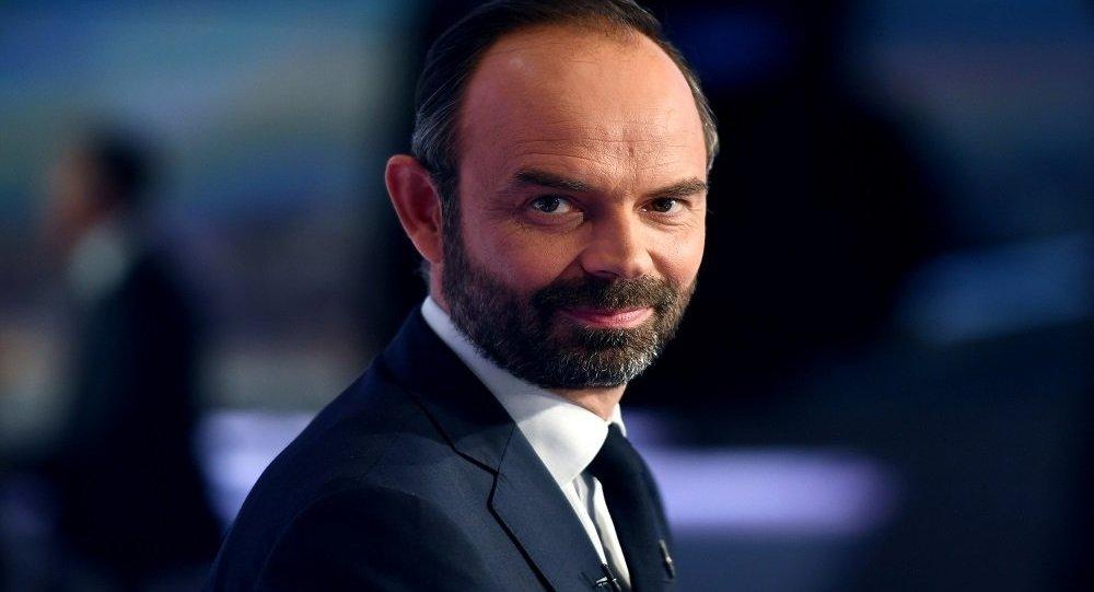 رئيس وزراء فرنسا إدوار فيليب