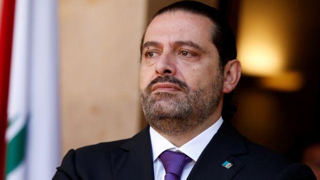 رئيس الوزراء اللبناني المستقيل