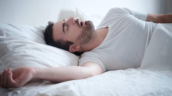 صعوبة التنفس أثناء النوم