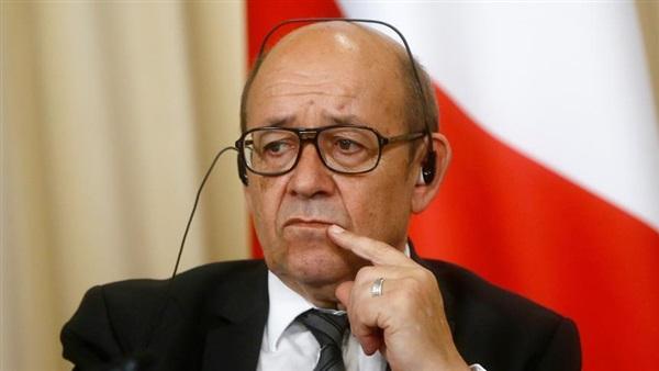 وزارة الخارجية الفرنسية جان إيف لودريان
