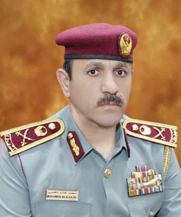اللواء محمد أحمد بن غانم الكعبي القائد العام لشرطة الفجيرة