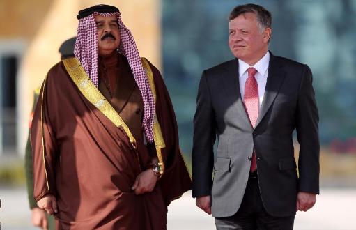 ملك البحرين و نظيره الأردني (أرشيفية)