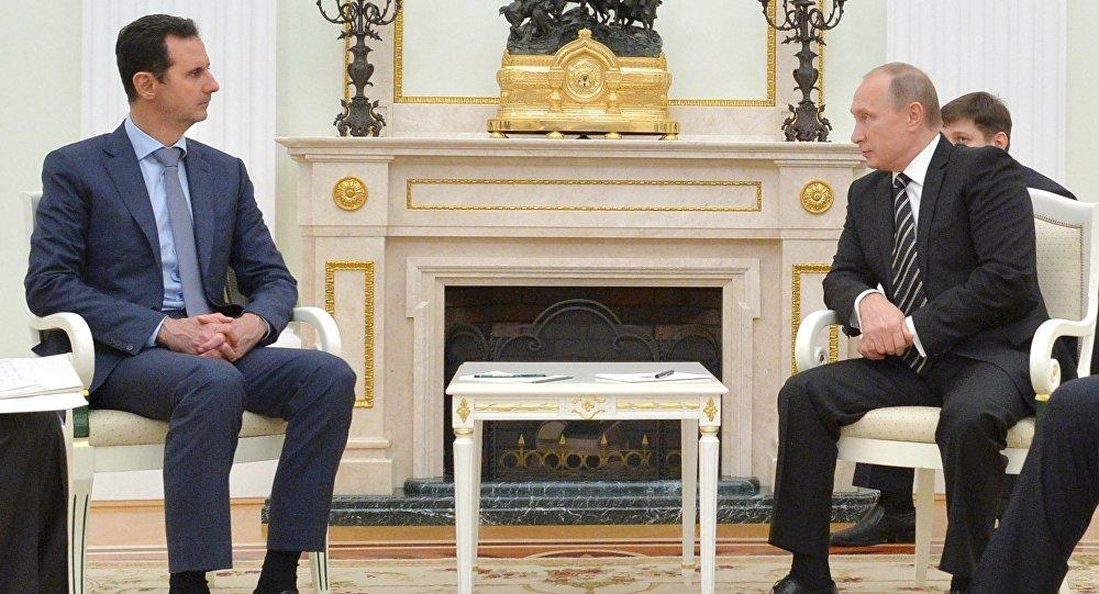 بشار الأسد وبوتين (أرشيفية)