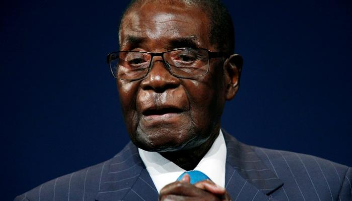 موجابي رئيس زيمبابوي السابق