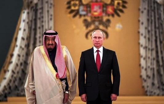 بوتين وسلمان
