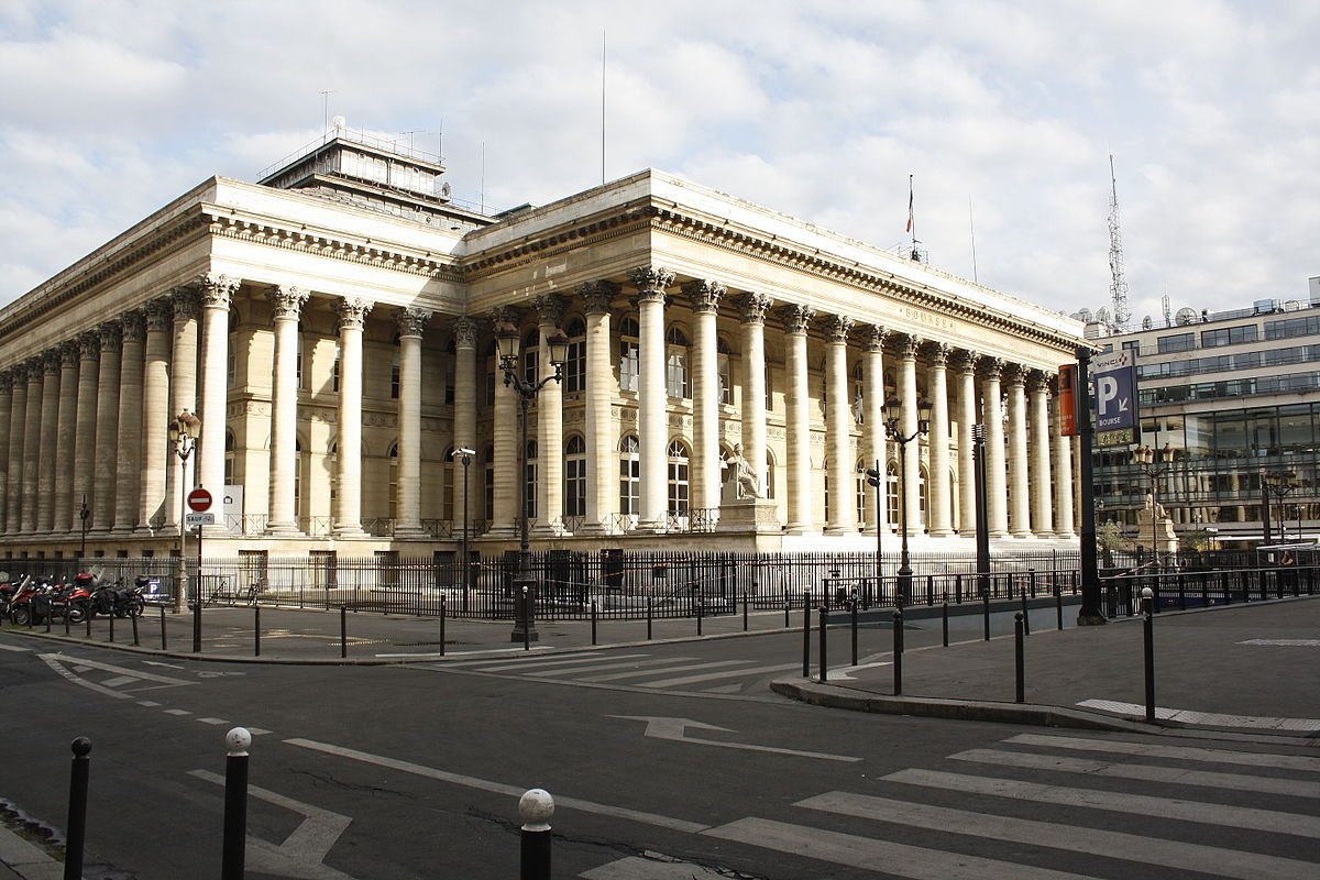 مبنى بورصة باريس