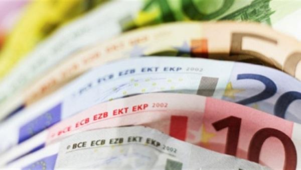 ورق عملات من اليورو