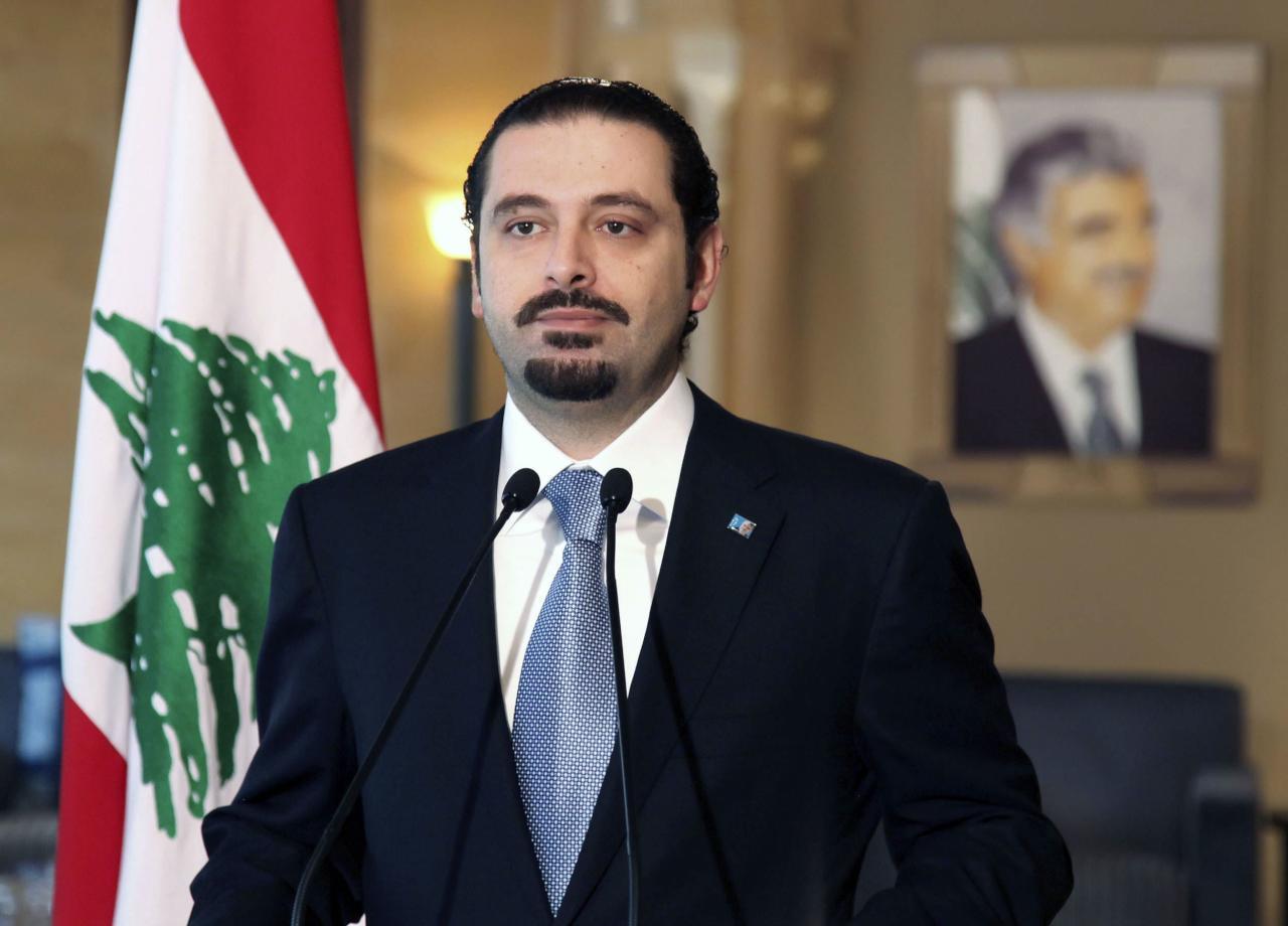رئيس الوزراء اللبنانى