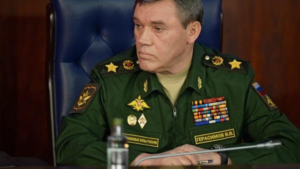 فاليري جيراسيموف رئيس أركان القوات المسلحة الروسية