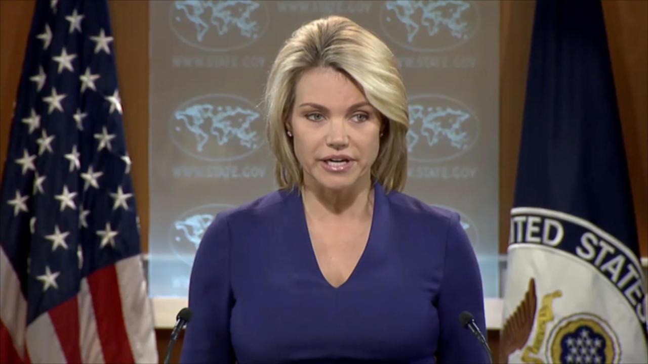 المتحدثة باسم الخارجية الأمريكية
