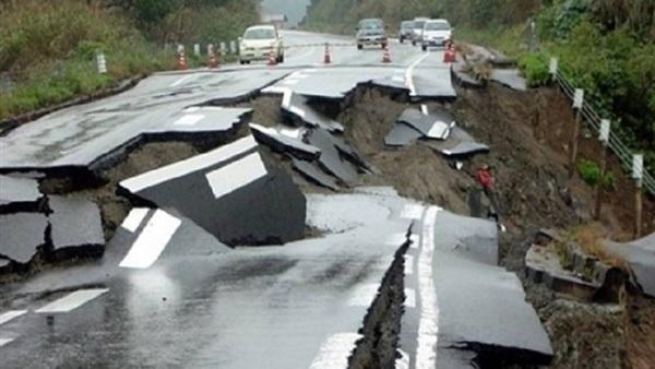 صورة أرشيفية لدمار ناتج عن زلزال