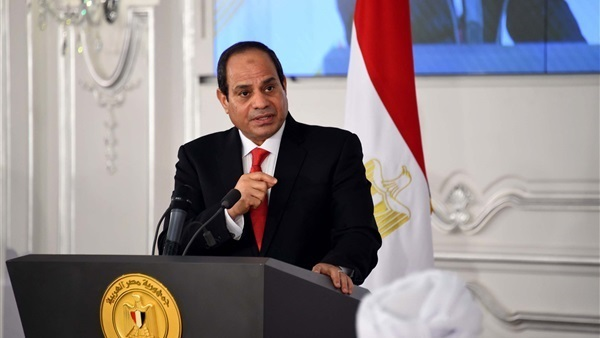 الرئيس المصرى عبد الفتاح السيسي