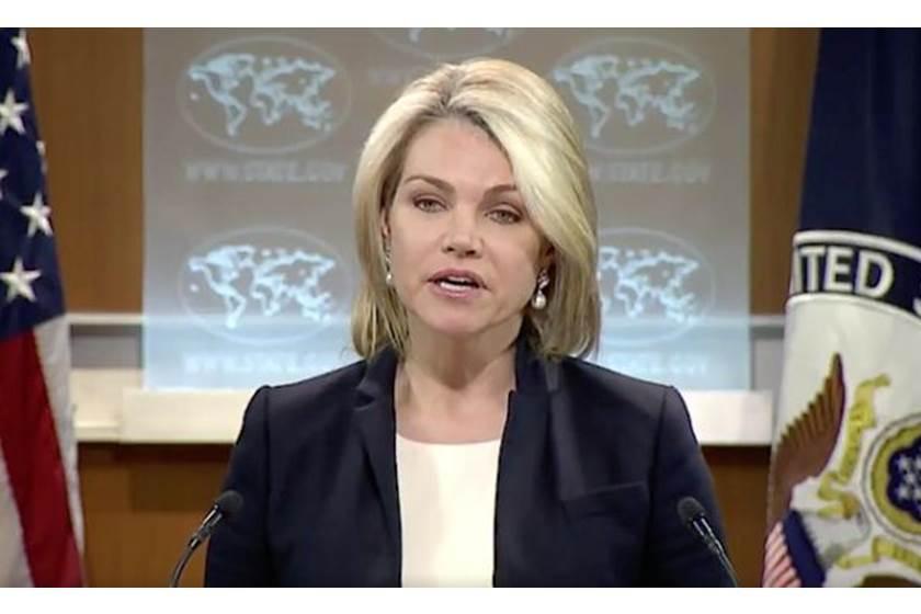 المتحدثة الرسمية باسم الخارجية الامريكية هيثر نويرت