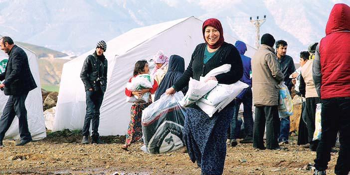 صورة أرشيفية لمخيمات اللاجئين السوريين