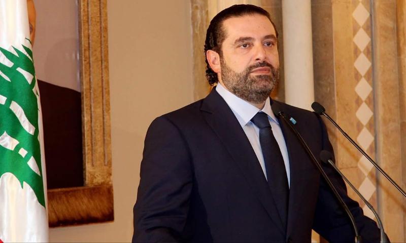 سعد الحريري رئيس الوزراء اللبنانى