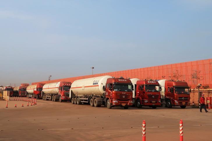 أسعار الغاز المسال بالصين تصعد لأعلى مستوى من 2011 مع ارتفاع الطلب الشتوي
