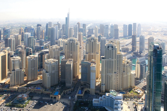 العقارات في دبي - صورة ارشيفية