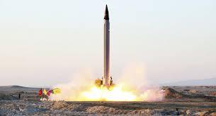 تجربة صاروخية