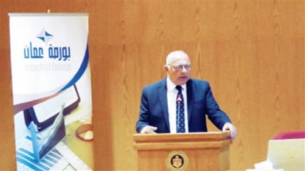 الدكتور جواد العناني رئيس بورصة عمان بالأردن