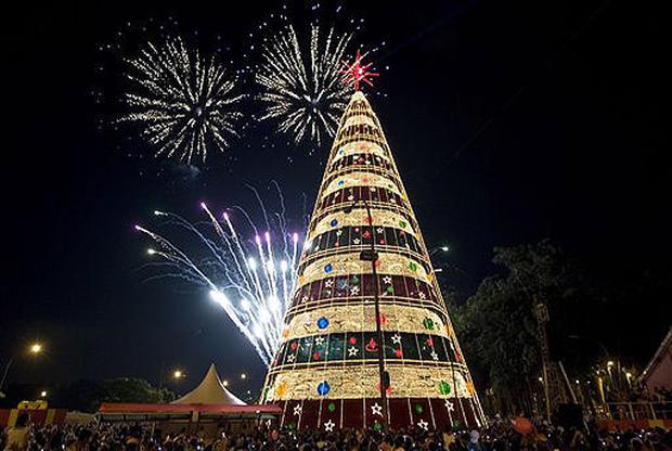 احتفال اعياد الميلاد- شجرة الكريسماس (ارشيفية)