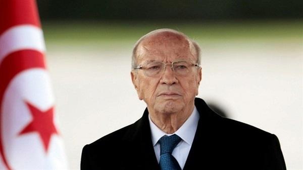 رئيس تونس الباجي قايد السبسي