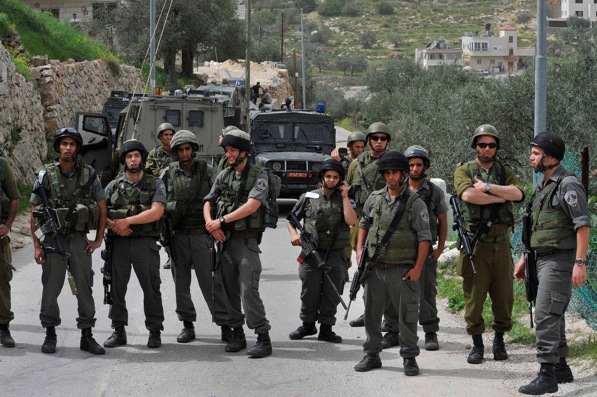 قوات الجيش الاسرائيلى