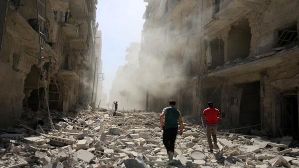 صورة ارشيفية  من سوريا