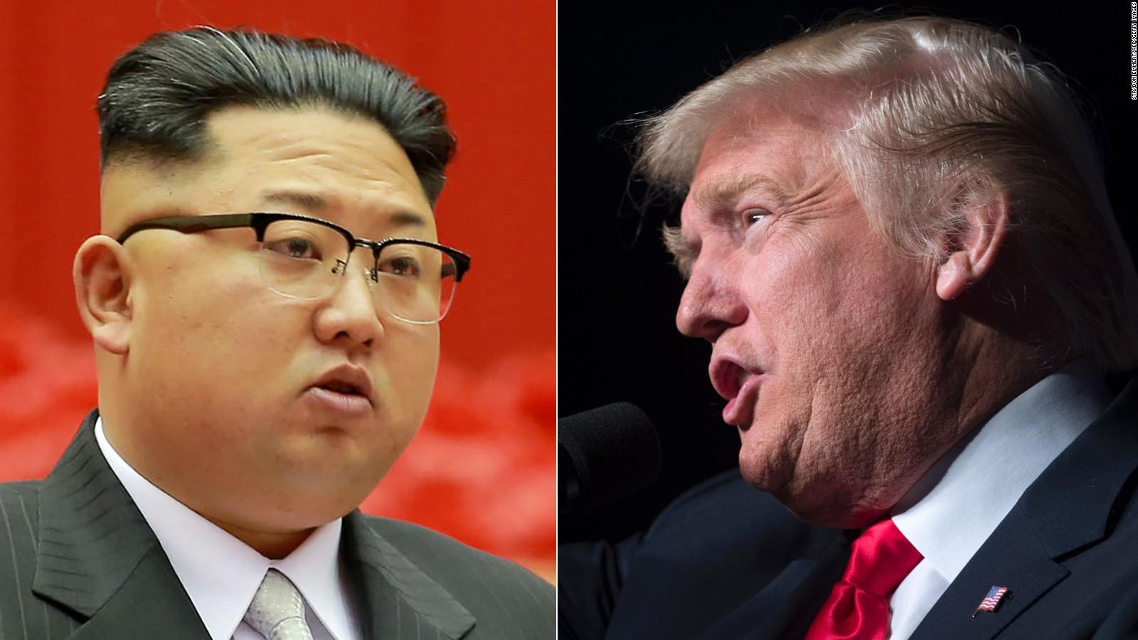 دونالد ترامب وزعيم كوريا الشمالية