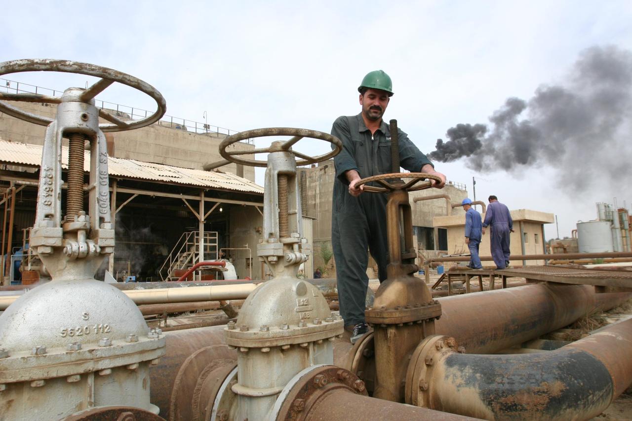 صادرات النفط العراقية
