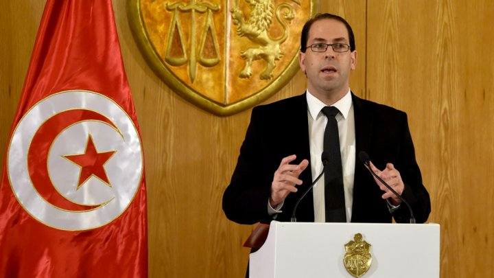 رئيس حكومة الوحدة الوطنية التونسية يوسف الشاهد