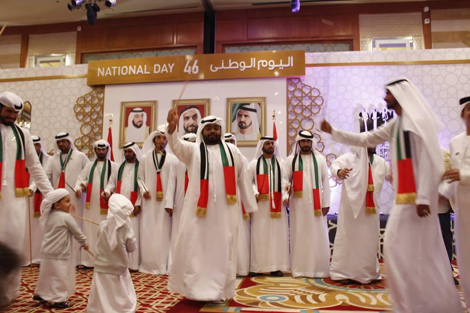 سفارة الإمارات بالقاهرة تحتفل بالعيد الوطني الـ ٤٦